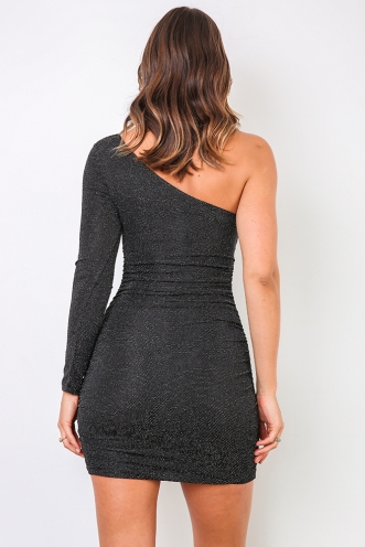 Ananya Dress - Black Sparkle