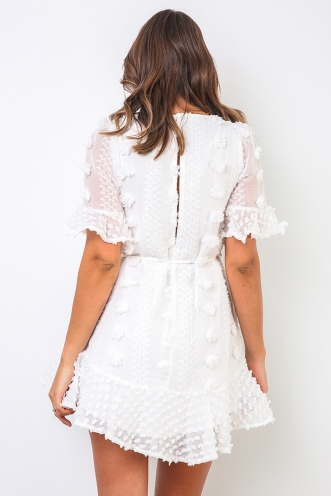 Love Story Dress - White