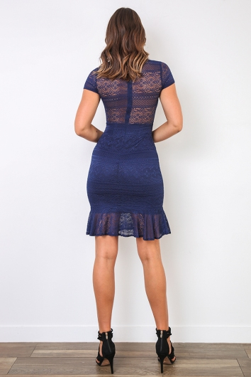 Katia Dress - Navy