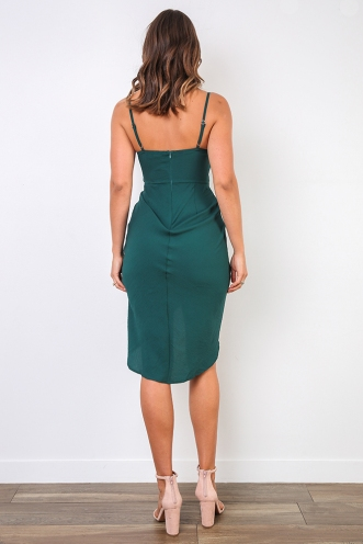 My Angel Dress - Forest Green