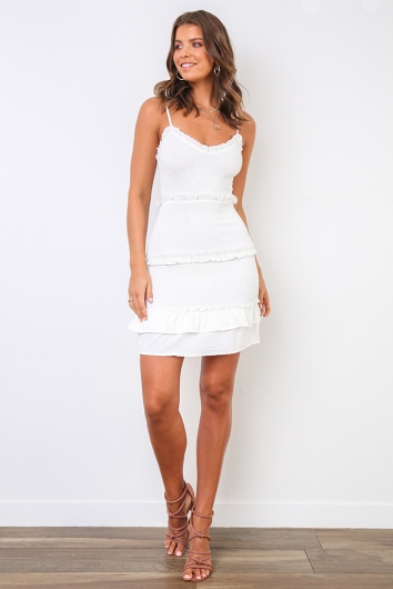 Chesney Dress - White