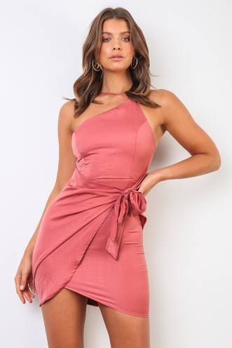 Elaine Dress - Rose