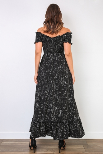 Felina Dress - Black Spot
