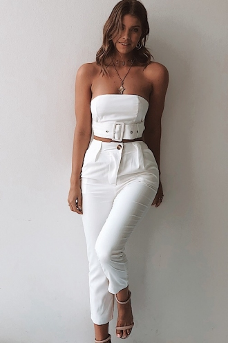 Caitlyn Pants - White