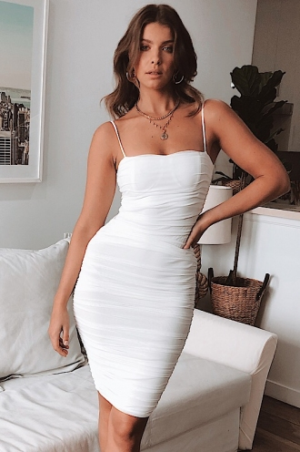 Lilah Dress - White