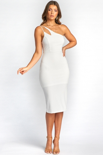 Morgana Dress - White