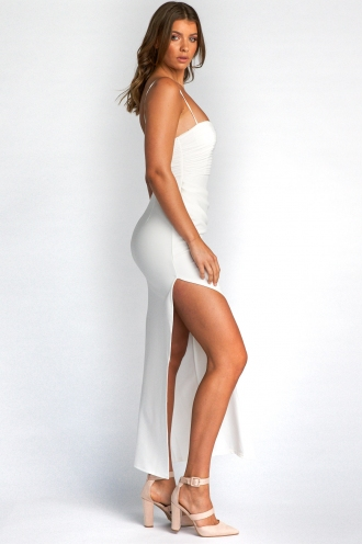 Gabi Dress - White