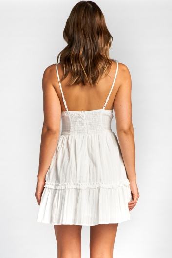 Savannah Dress - White