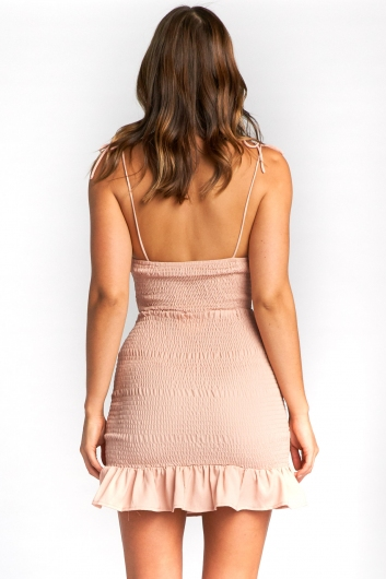Yonnie Dress - Blush