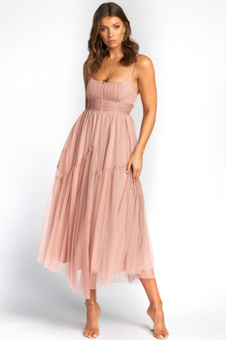 PRE-ORDER Peri Dress - Blush