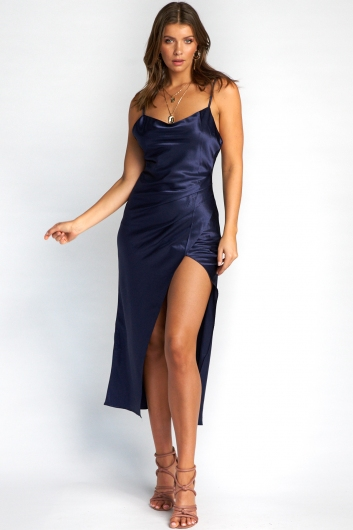 Yewande Dress - Navy
