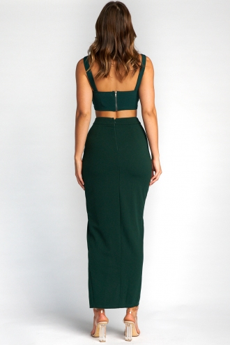 Charmaine Top - Forest Green