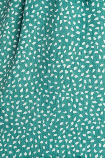 Maggie Dress - Green Print