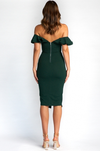 Tabetha Dress - Forest Green