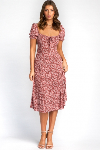 Karli Dress - Rose Print