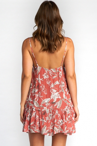 Cameron Dress - Rose Print
