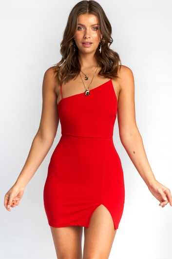 Friya Dress - Red