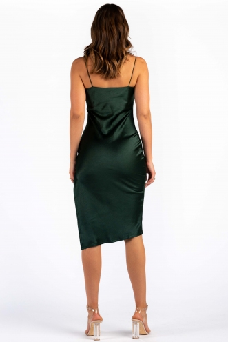 Katerina Dress - Forest Green