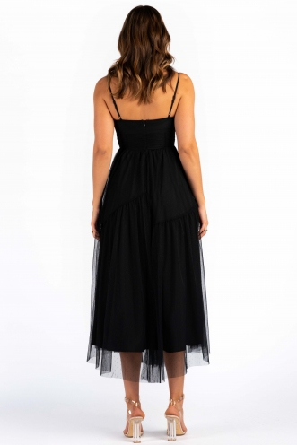 PRE-ORDER Peri Dress - Black