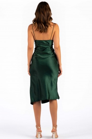 Harley Dress - Forest Green