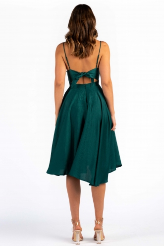 Rebecca Dress - Forest Green