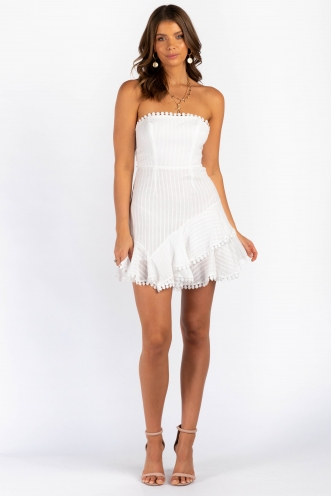 Brittney Dress - White