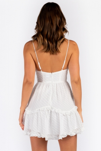 Lazaren Dress - White