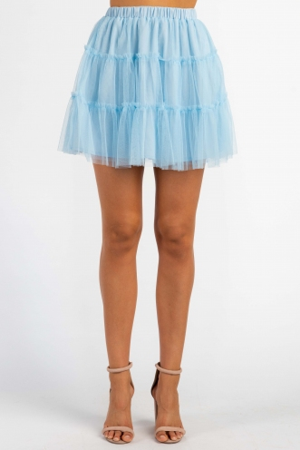 Charlene Skirt - Light Blue
