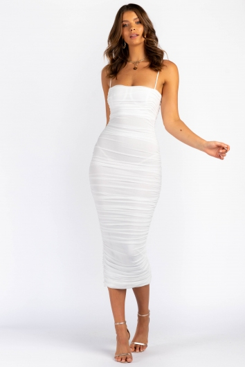 Neri Dress - White
