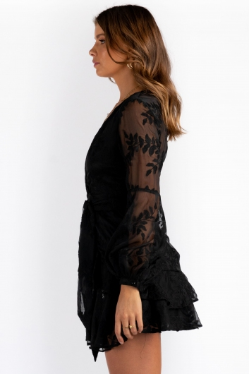 Fly With Me Dress - Black