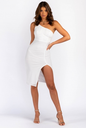 Nilly Dress - White