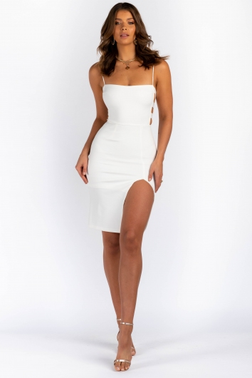 Karen Dress - White