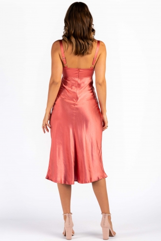 Cappadocia Sunset Dress - Rust