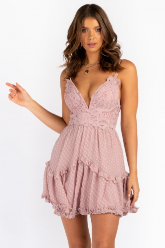 Lazaren Dress - Blush