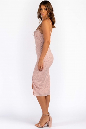 Michelle Dress - Mix Blush