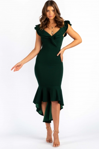 Fangirl Dress - Forest Green