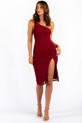 Nilly Dress - Wine
