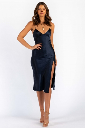 Harley Dress - Navy