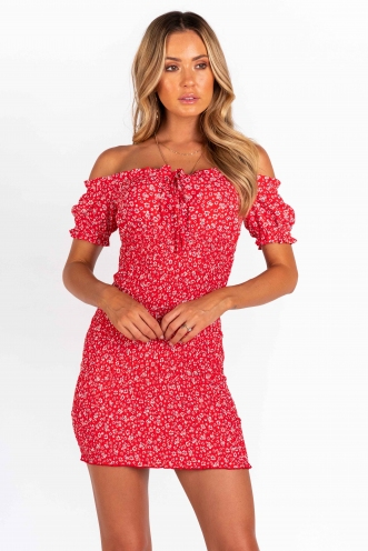 Eve Dress - Red Print