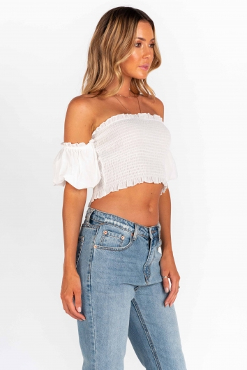 The Fool Top - White