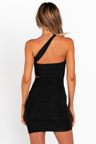 Love Might Be Found Dress - Black