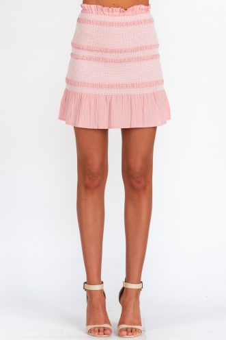 Girl Like Me Skirt - Pink
