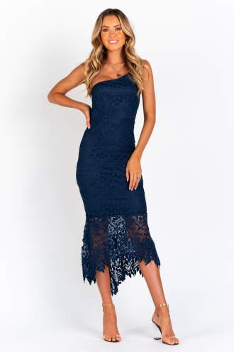 Ice Princess Dress - Navy