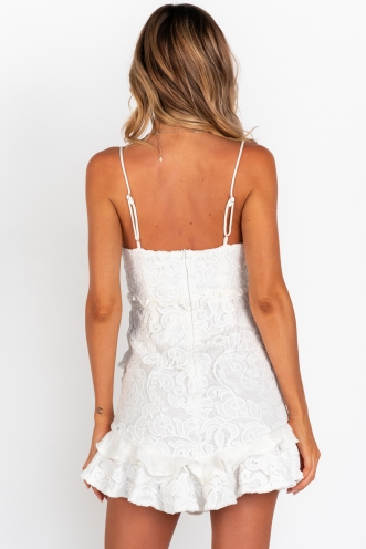 Bentley Dress- White