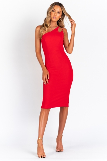 Better Than Ever Dress - Red