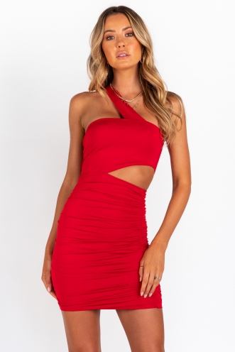 Love Might Be Found Dress - Red