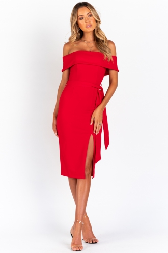 Maryanne Dress - Red