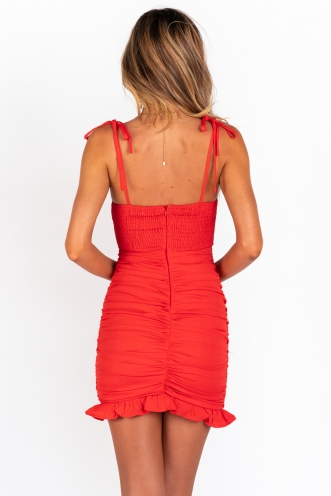 Hunter Dress - Red