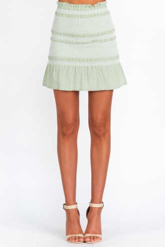 Girl Like Me Skirt - Green