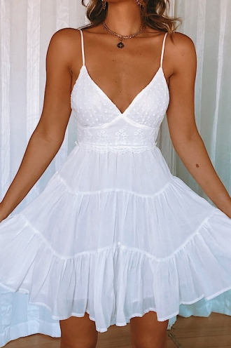 Jovanna Dress - White